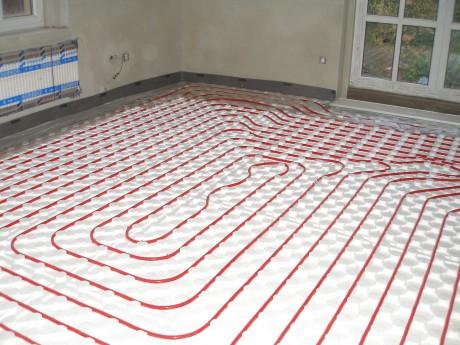 Podlahové topení rehau cena
